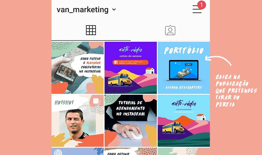 Como arquivar publicações no Instagram