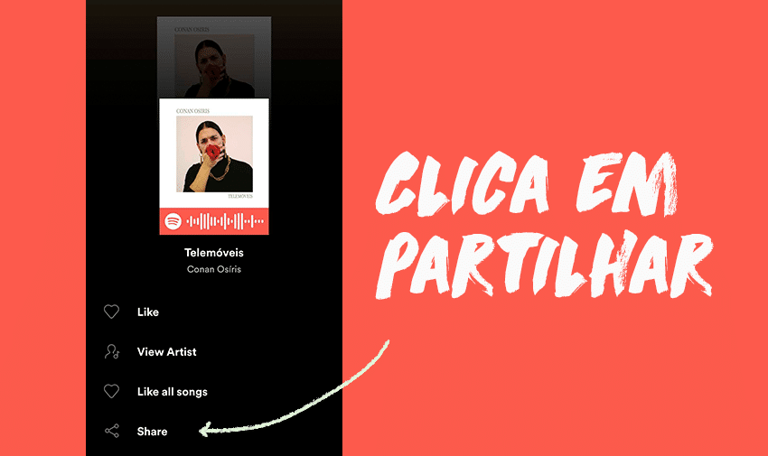 Como partilhar músicas no Snapchat