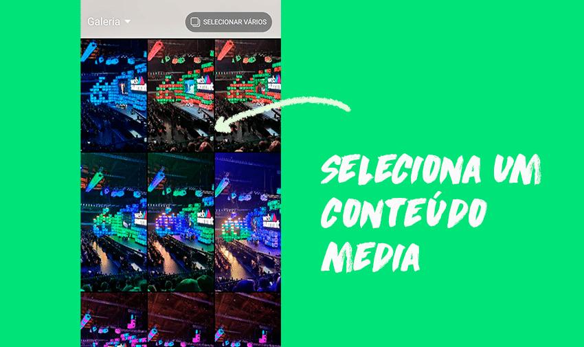 Seleciona Conteúdo Media