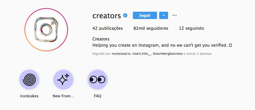 8. Instagram Launches @Creators
