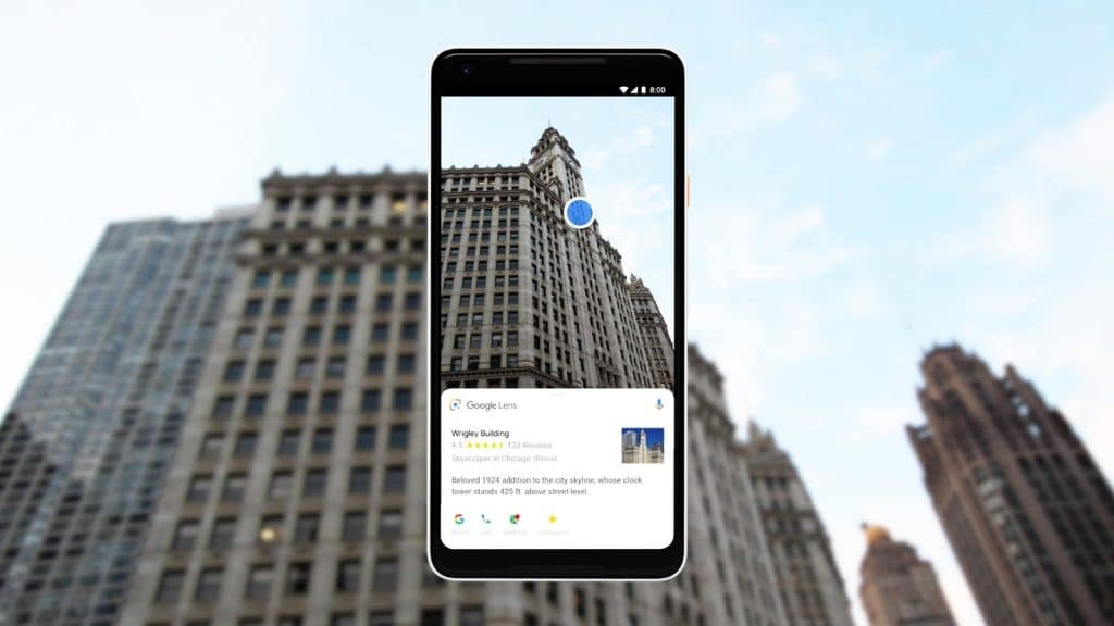 4. Visual Search - Google Lens