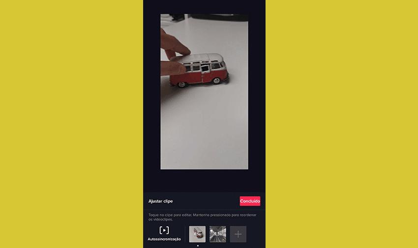 Clica em realizar upload
