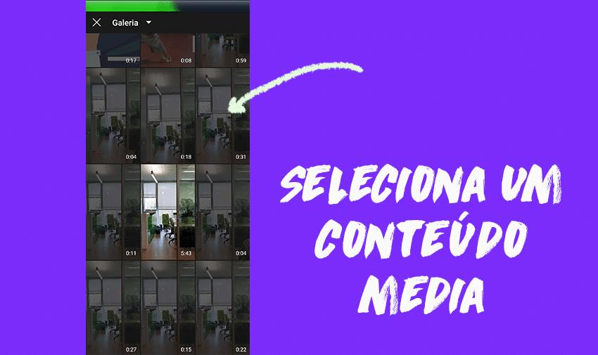 4º Passo: como colocar vídeos no IGTV