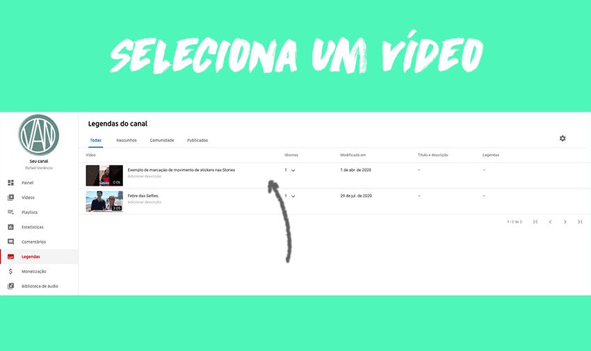 #2 - Seleciona um vídeo