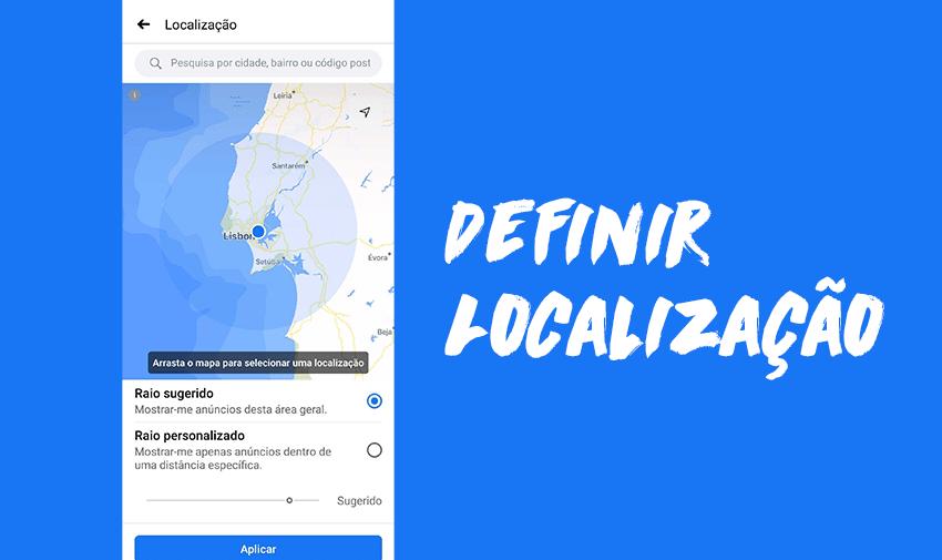 Definir a localização