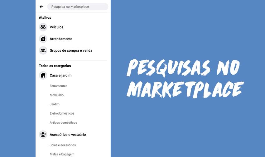 Pesquisas Facebook Marketplace
