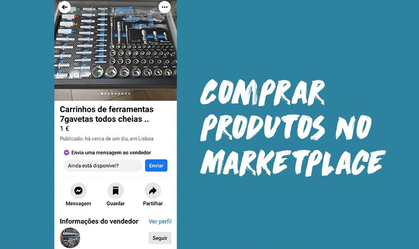Como comprar no Facebook Marketplace