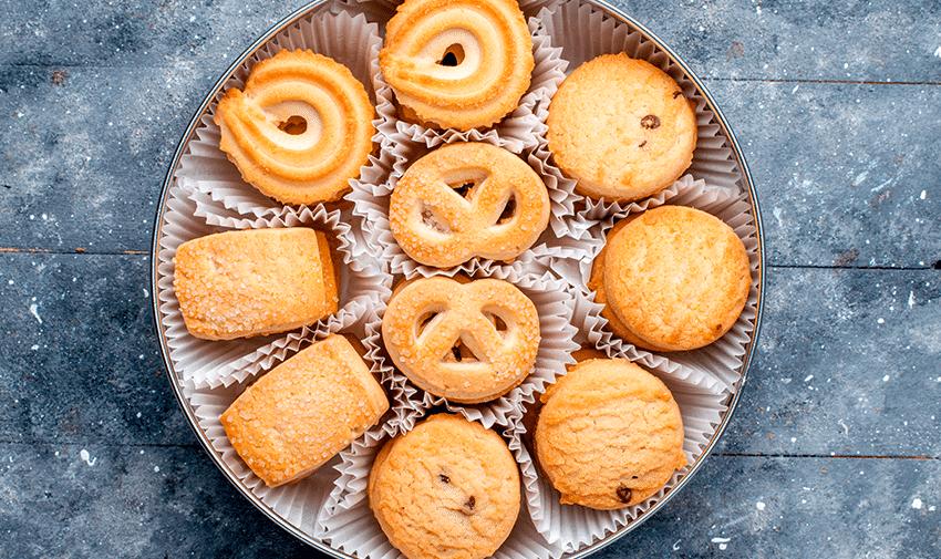 Diferentes tipos de cookies
