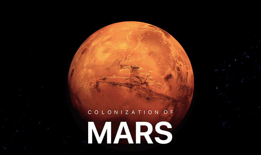 Colonization of Mars.