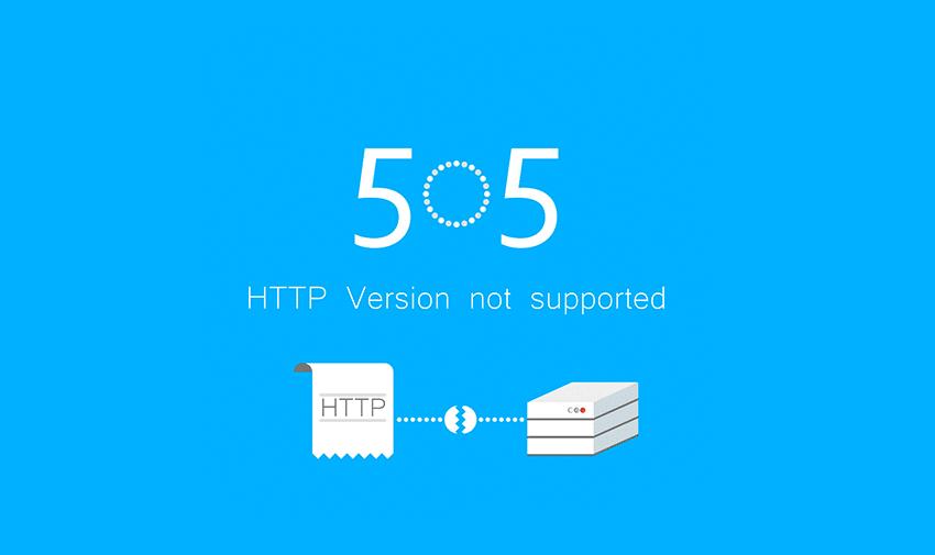 O que é o Erro 505?