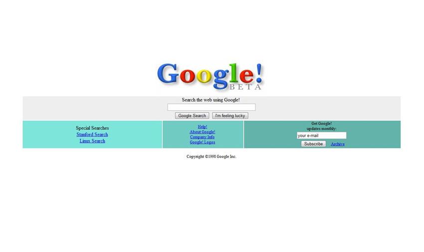 Top pesquisas Google 2001 vs 2020: criação da Google